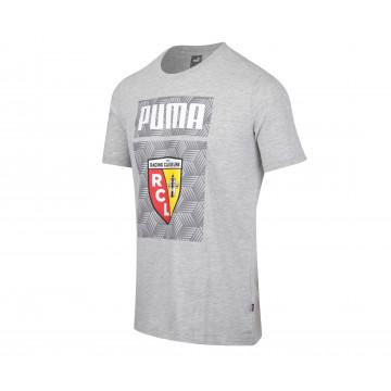 T-shirt junior RC Lens gris 2021/22
