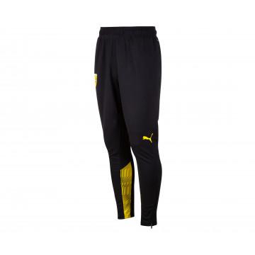 Pantalon entraînement junior RC Lens noir jaune 2021/22