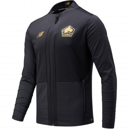 Veste avant match LOSC noir or 2021/22
