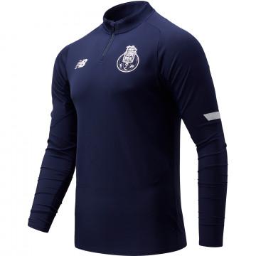 Sweat zippé FC Porto bleu marine 2021/22