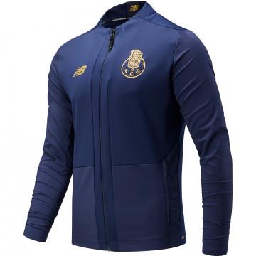 Veste avant match FC Porto bleu or 2021/22