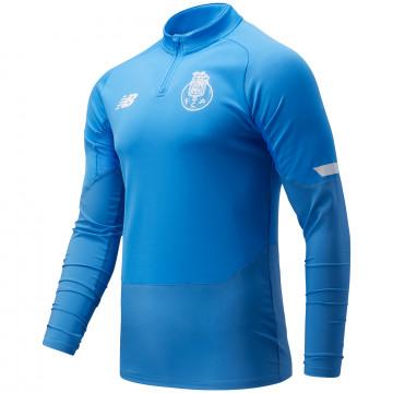 Sweat zippé FC Porto bleu ciel 2021/22