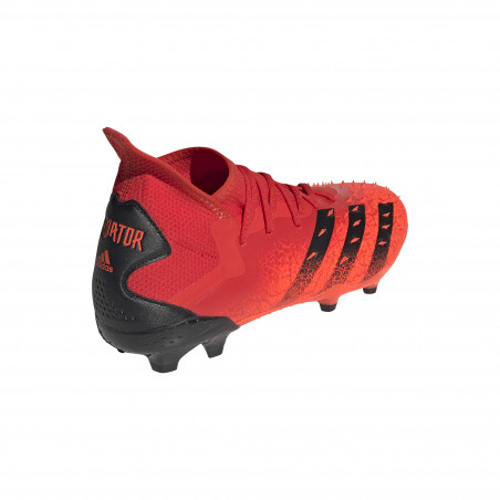 adidas Predator Freak.2 montante FG rouge noir