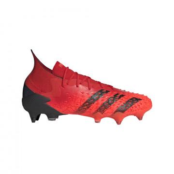 adidas Predator Freak.1 montante SG rouge noir