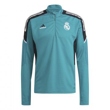 Sweat zippé Real Madrid Europe bleu 2021/22