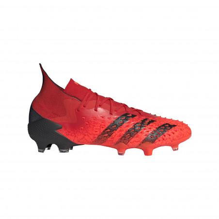 adidas Predator Freak.1 montante FG rouge noir