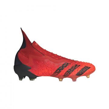 adidas Predator Freak+ FG rouge noir