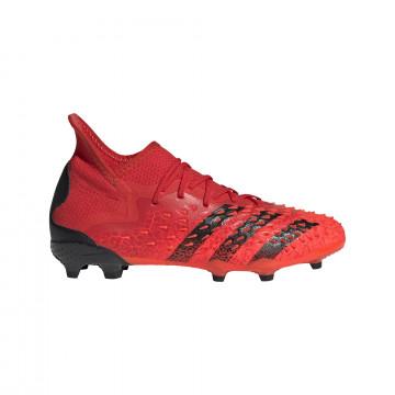 adidas Predator Freak.1 junior montante FG rouge noir