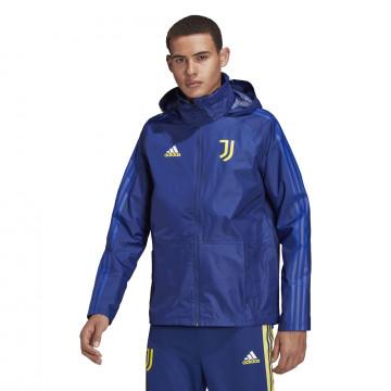 Veste imperméable Juventus bleu 2021/22