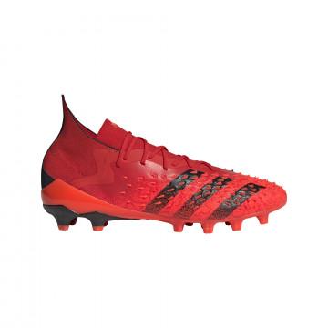 adidas Predator Freak.1 montante AG rouge noir