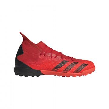 adidas Predator Freak.3 Turf rouge noir