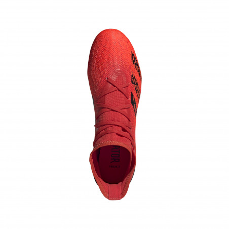 adidas Predator Freak.3 montante FG rouge noir