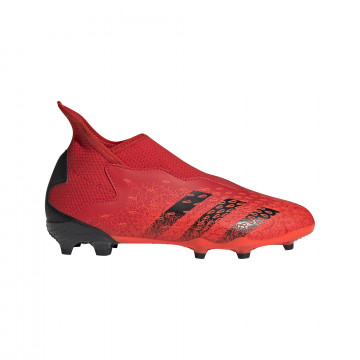 adidas Predator Freak.3 junior LaceLess montante FG rouge noir