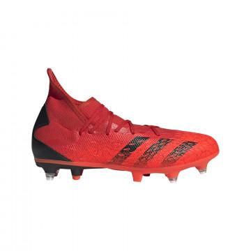 adidas Predator Freak.3 montante SG rouge noir