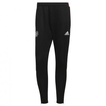 Pantalon survêtement Manchester United noir rouge 2021/22