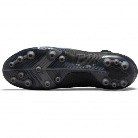 Nike Mercurial Superfly 8 Elite AG noir bleu