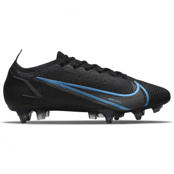 Nike Mercurial Vapor 14 Elite SG-Pro Anti-Clog noir bleu