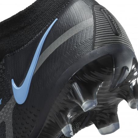 Nike Phantom GT2 Elite montante FG noir bleu