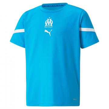 Maillot avant match junior OM bleu 2021/22