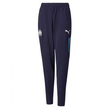 Pantalon survêtement junior OM bleu 2021/22