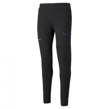 Pantalon survêtement OM Casual noir 2021/22