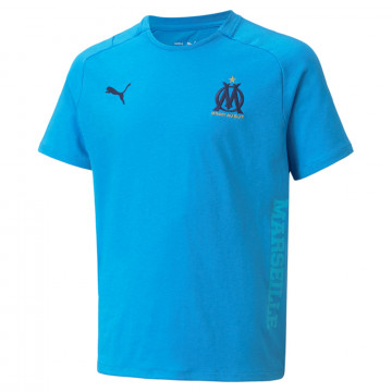 T-shirt junior OM Casual bleu 2021/22