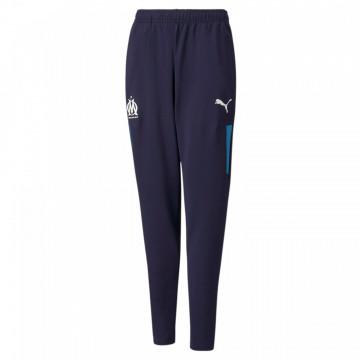 Pantalon survêtement OM bleu 2021/22