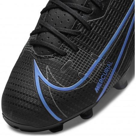 Nike Mercurial Vapor 14 junior Academy FG/MG noir bleu