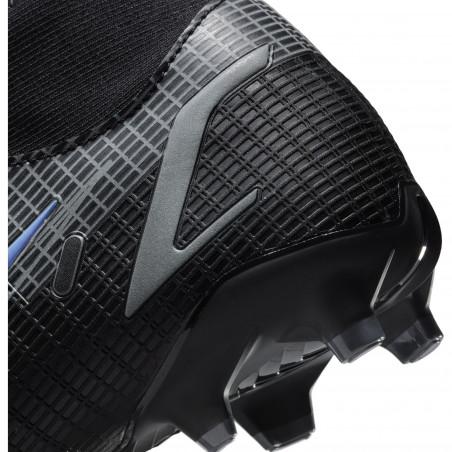 Nike Mercurial Superfly 8 Academy FG/MG noir bleu