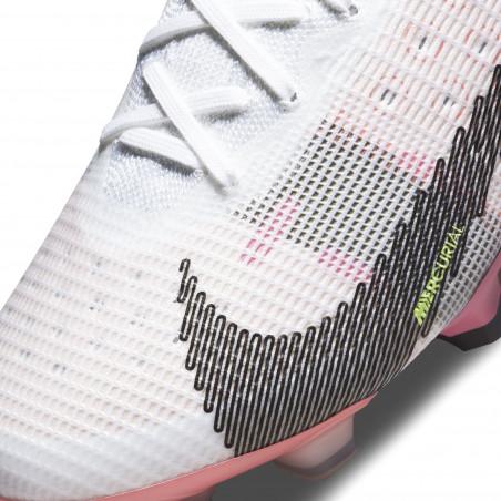 Nike Mercurial Vapor 14 Elite FG blanc rose