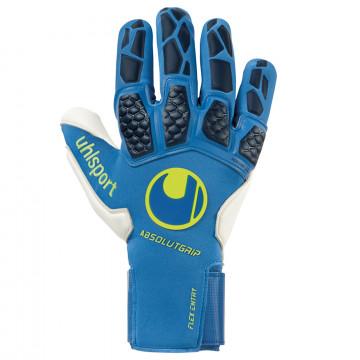 Gants gardien Uhlsport Hyperact AbsolutGrip Reflex bleu noir
