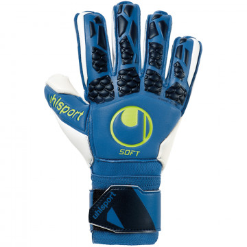 Gants gardien Uhlsport Hyperact Softflex Frame bleu noir