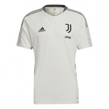 Maillot entraînement junior Juventus blanc gris 2021/22