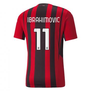 Maillot Ibrahimovic Milan AC domicile 2021/22