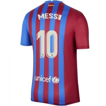 Maillot Messi FC Barcelone domicile 2021/22