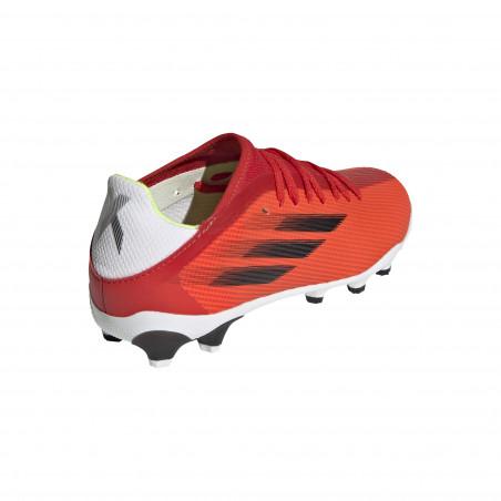 adidas X SPEEDFLOW.3 junior MG rouge blanc