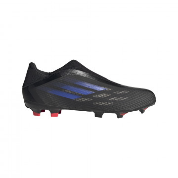 adidas X SPEEDFLOW.3 LaceLess FG noir bleu