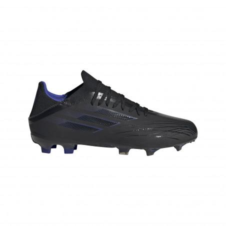 adidas X junior SPEEDFLOW.1 FG noir bleu
