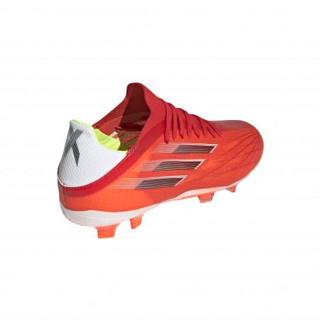 adidas X SPEEDFLOW.1 junior FG rouge blanc