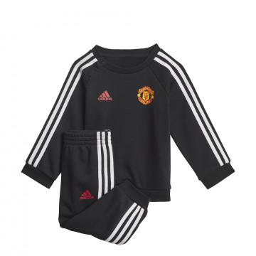 Ensemble survêtement bébé Manchester United noir 2021/22