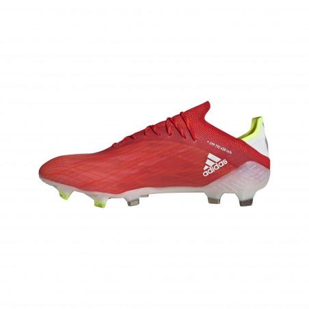 adidas X SPEEDFLOW.1 FG rouge blanc