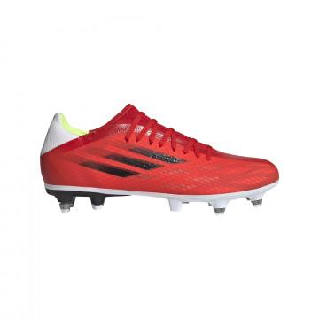 adidas X SPEEDFLOW.3 SG rouge blanc