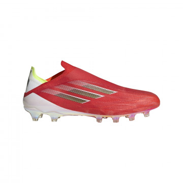 adidas X SPEEDFLOW+ AG rouge blanc