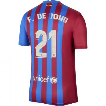 Maillot De Jong FC Barcelone domicile 2021/22