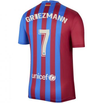 Maillot Griezmann FC Barcelone domicile 2021/22