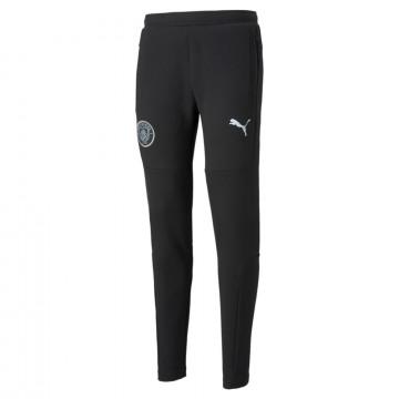 Pantalon survêtement Manchester City Casual noir 2021/22
