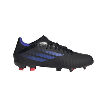 adidas X SPEEDFLOW.3 junior FG noir bleu