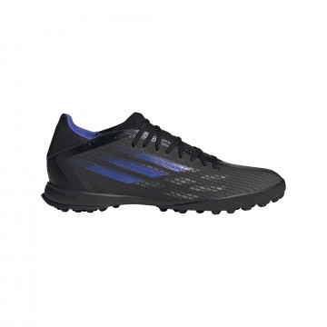 adidas X SPEEDFLOW.3 Turf noir bleu