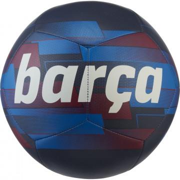 Ballon FC Barcelone Pitch noir bleu 2021/22