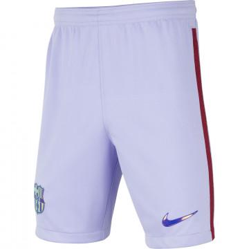Short junior FC Barcelone extérieur 2021/22